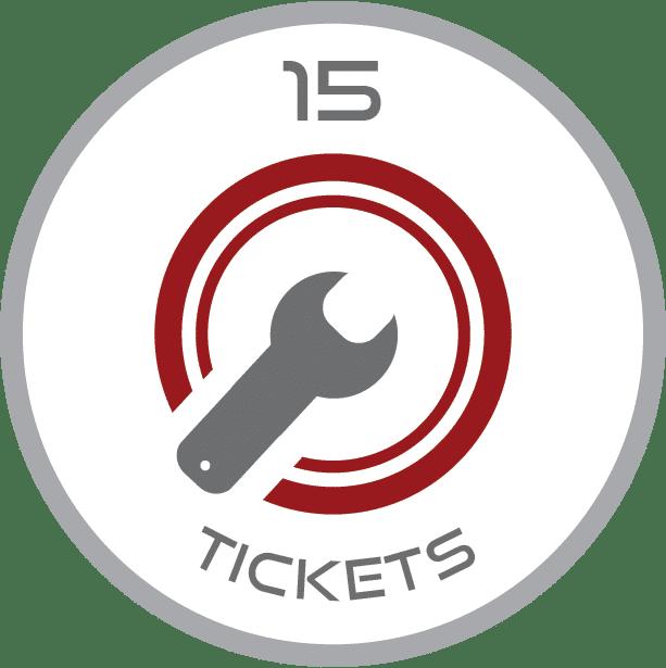 15 tickets